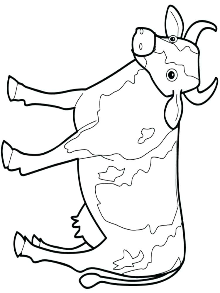 750x1000 Coloring Pages Halloween Adults Cow Color Page Printable Pictures
