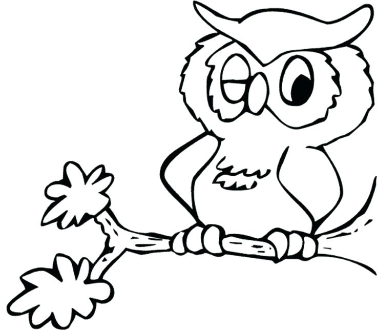736x644 Printable Snowy Owl Coloring Pages Animals Download And Print