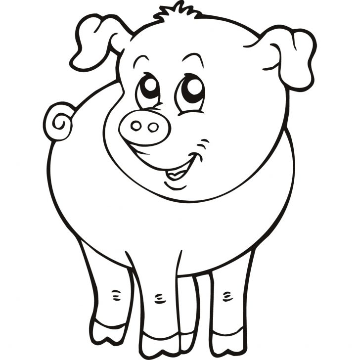 728x728 Adult Farm Animal Coloring Pages. Farm Animal Coloring Pages Free