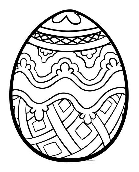570x706 Adult Easter Coloring Pages
