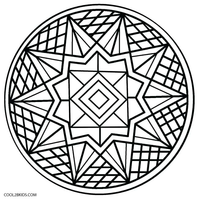 650x650 Easy Coloring Pages Adult In Fancy Print Paint