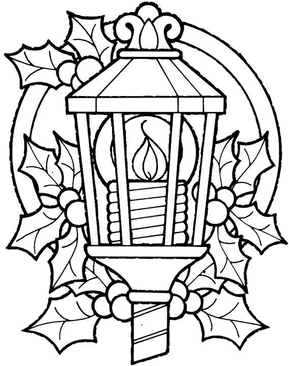 568x720 Free Christmas Coloring Pages For Adults Halloween Amp Holidays Wizard