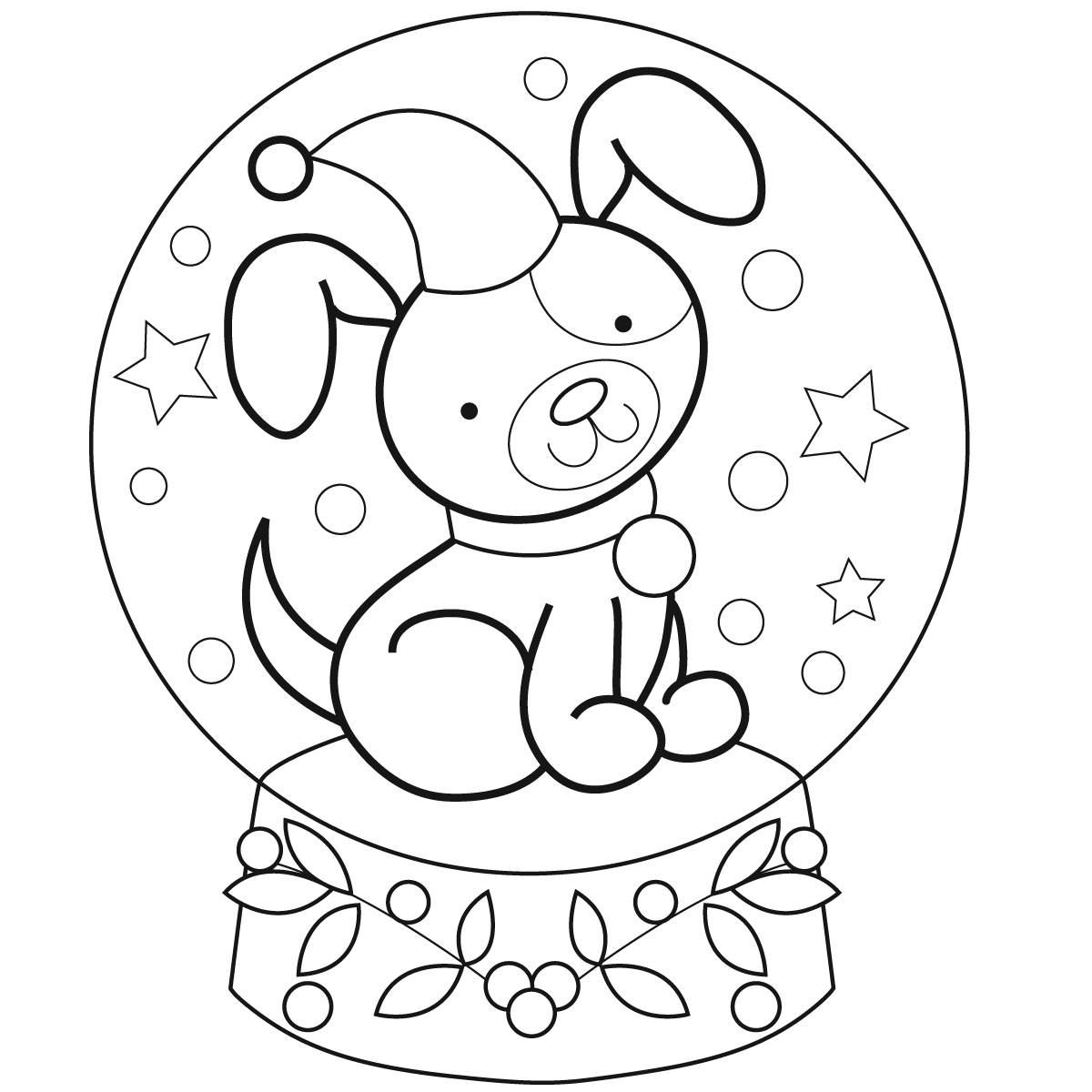 Coloring pages december free download best coloring for December coloring page
