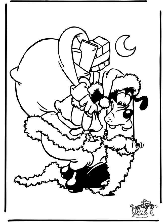 Kerst Kleurplaten Walt Disney Coloring Pages December Free Download Best Coloring
