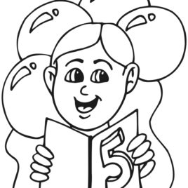 268x268 Coloring Pages 6 Year Olds Kids Drawing And