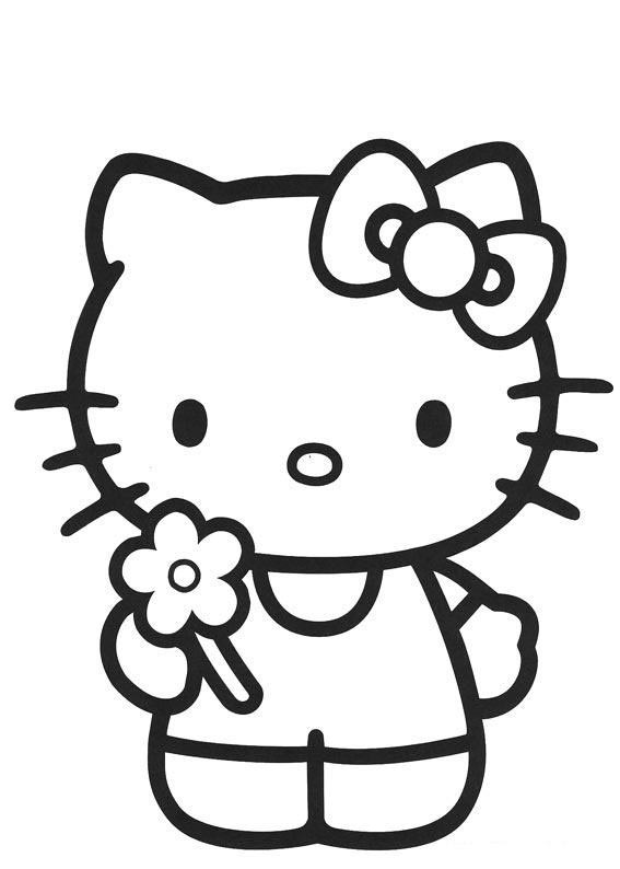 567x794 Print Out Hello Kitty Ballet Dancer Coloring In Sheet