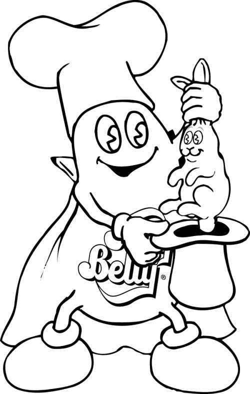 500x788 Coloring Page Jelly Belly Candy Company