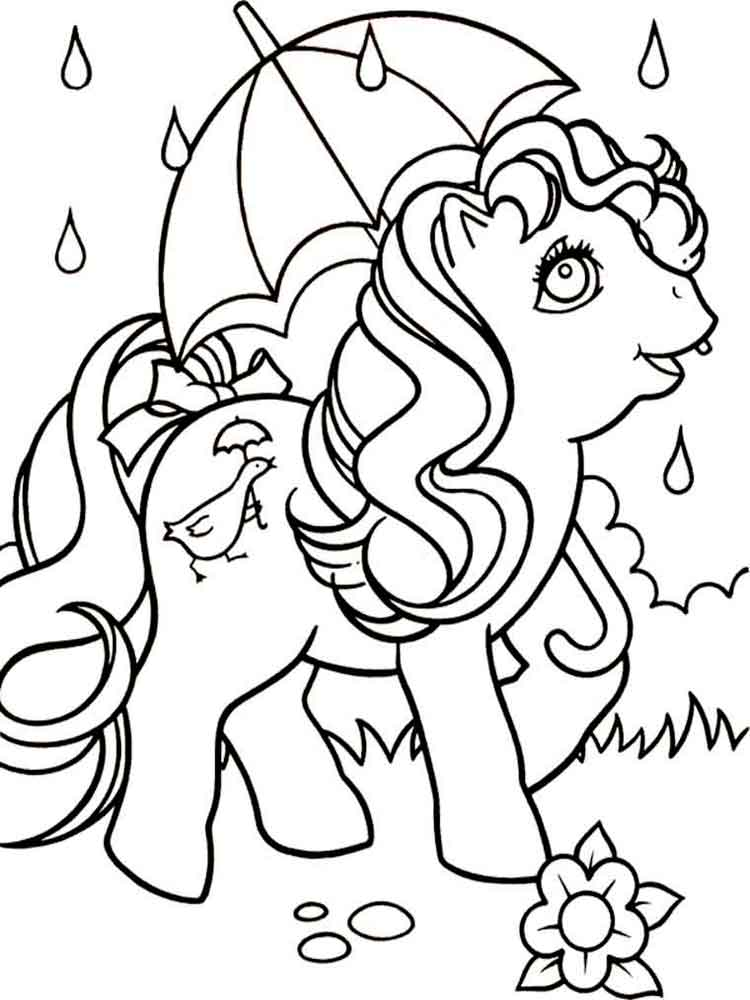 750x1000 My Little Pony Coloring Pages. Download And Print My Little Pony
