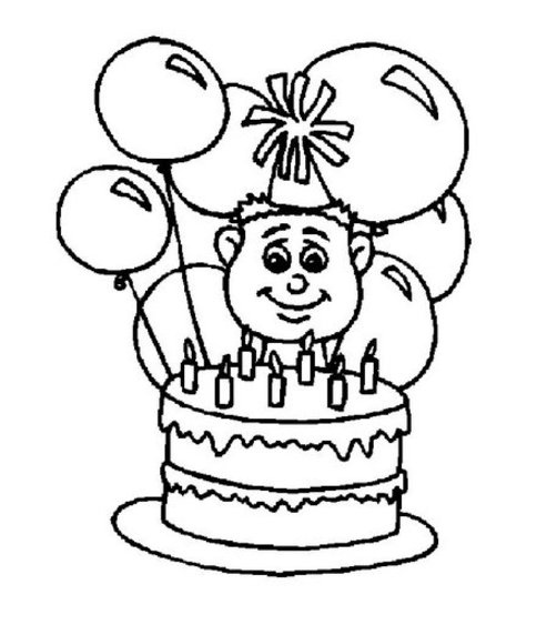493x563 Birthday Coloring Pages For 9 Year Olds Ideas Birthday Coloring