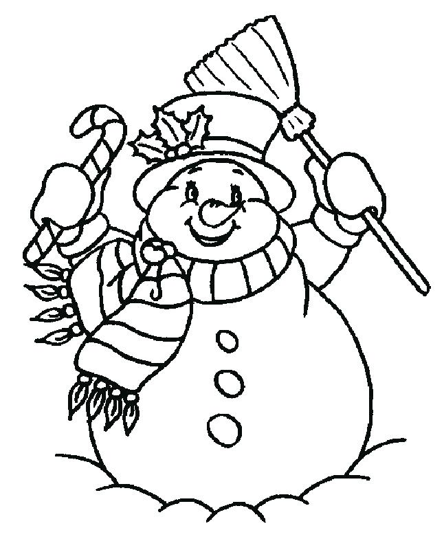 646x800 Free Snowman Coloring Pages Coloring Pages For Adults Free