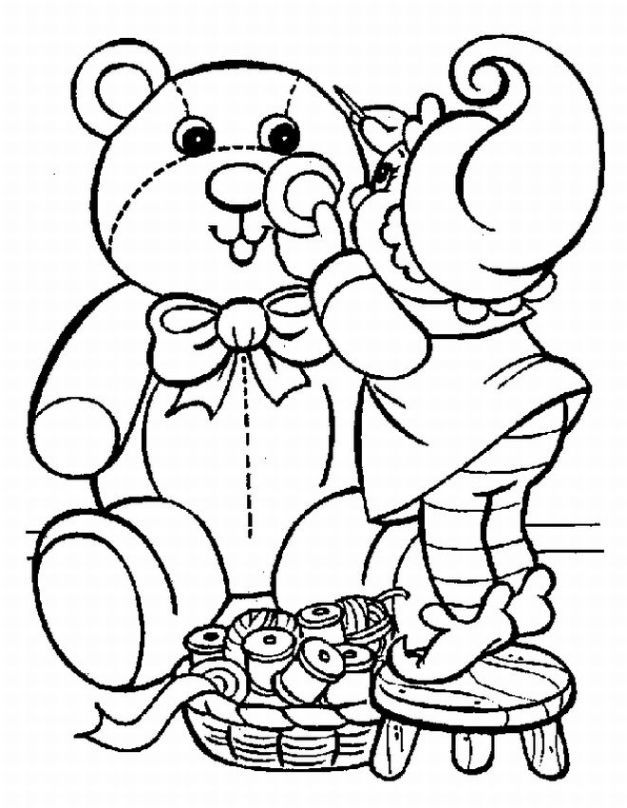 627x808 Printable Christmas Coloring Pages For Adults