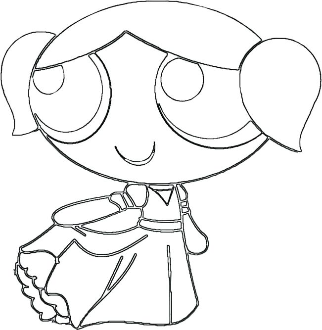 651x667 Power Puff Girls Coloring Page