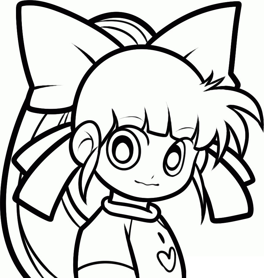 858x902 Power Puff Girls Z Coloring Pages Many Interesting Cliparts