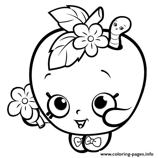 538x538 Best Shopkins Coloring Pages Free Printable Ideas