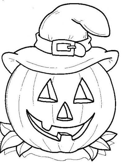 400x525 Best Halloween Coloring Pictures Ideas