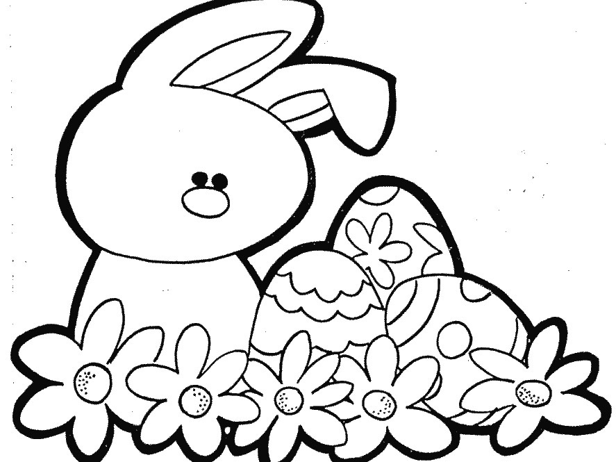 887x665 Easter Coloring Pages For Boys