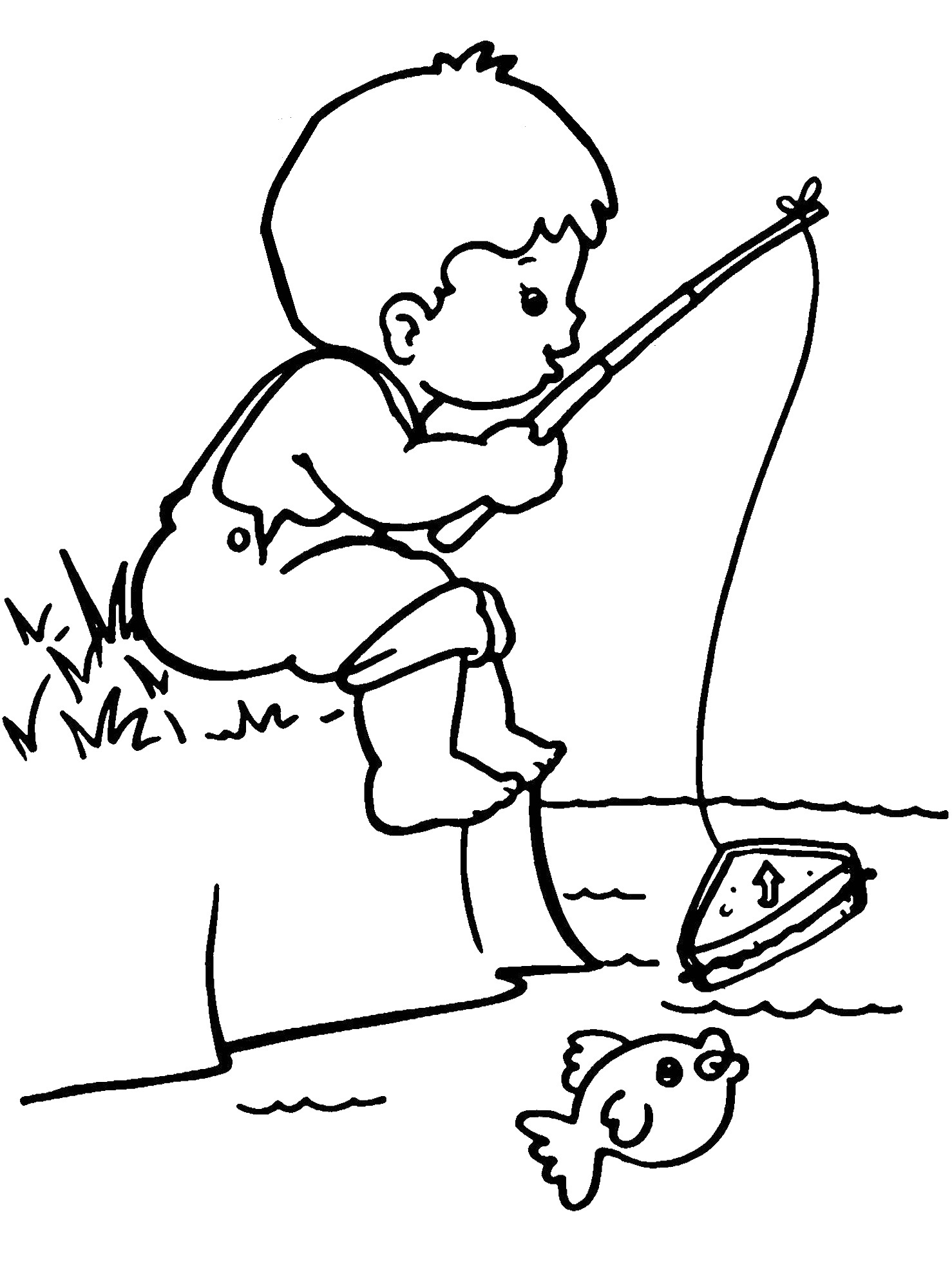 1478x2000 Free Printable Boy Coloring Pages For Kids