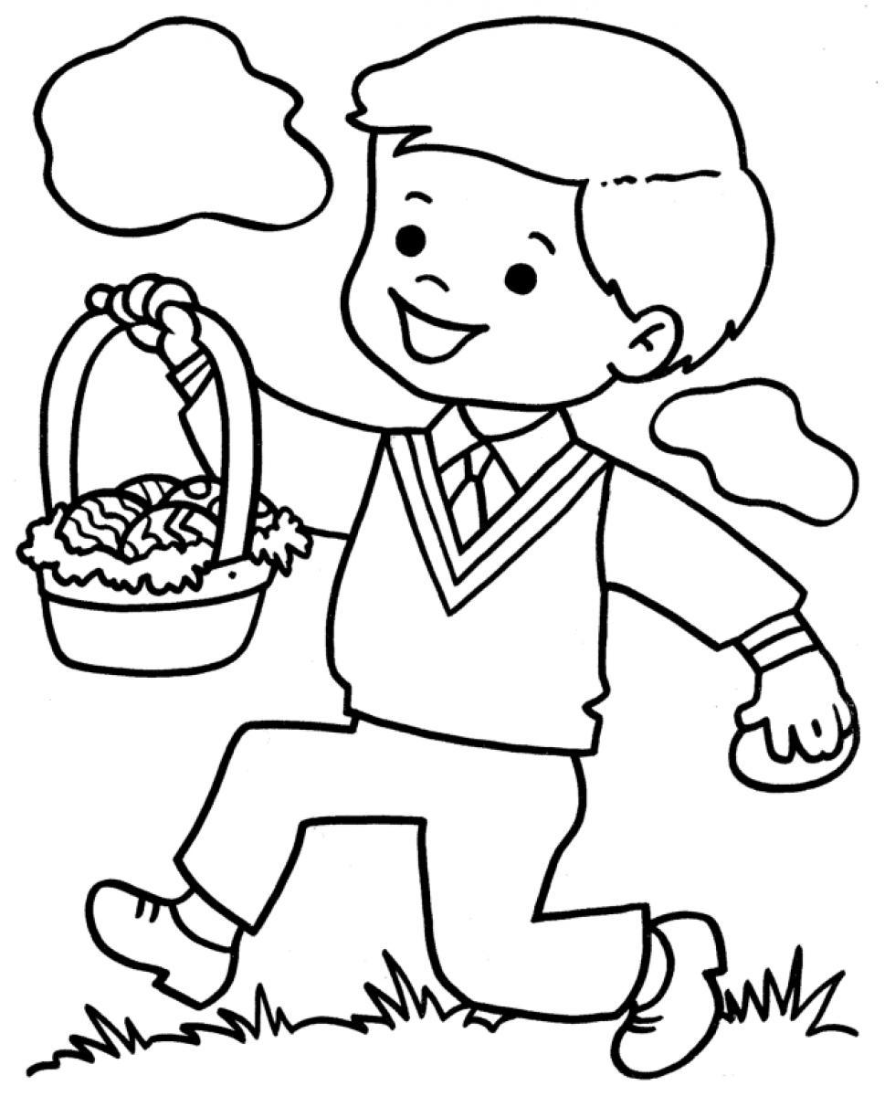 980x1200 Boy Coloring Pages Printable Download