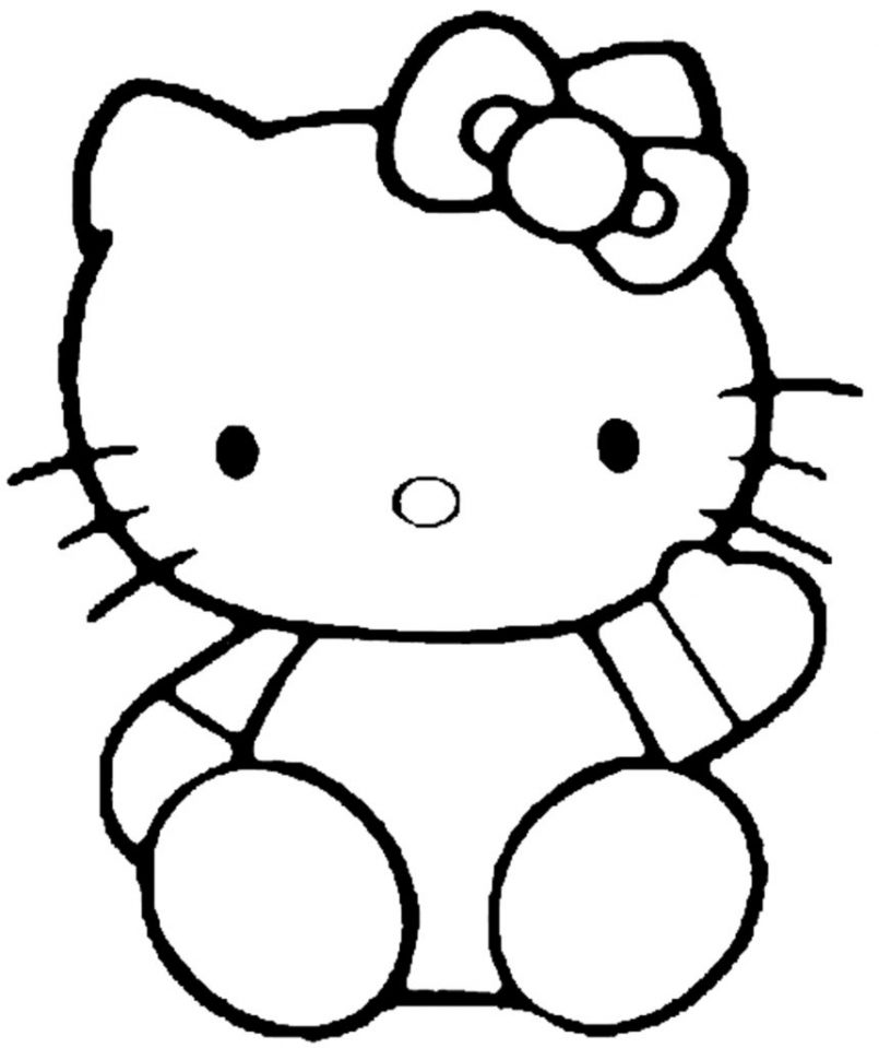 805x959 Coloring Pages Kids Free Printable For Girls