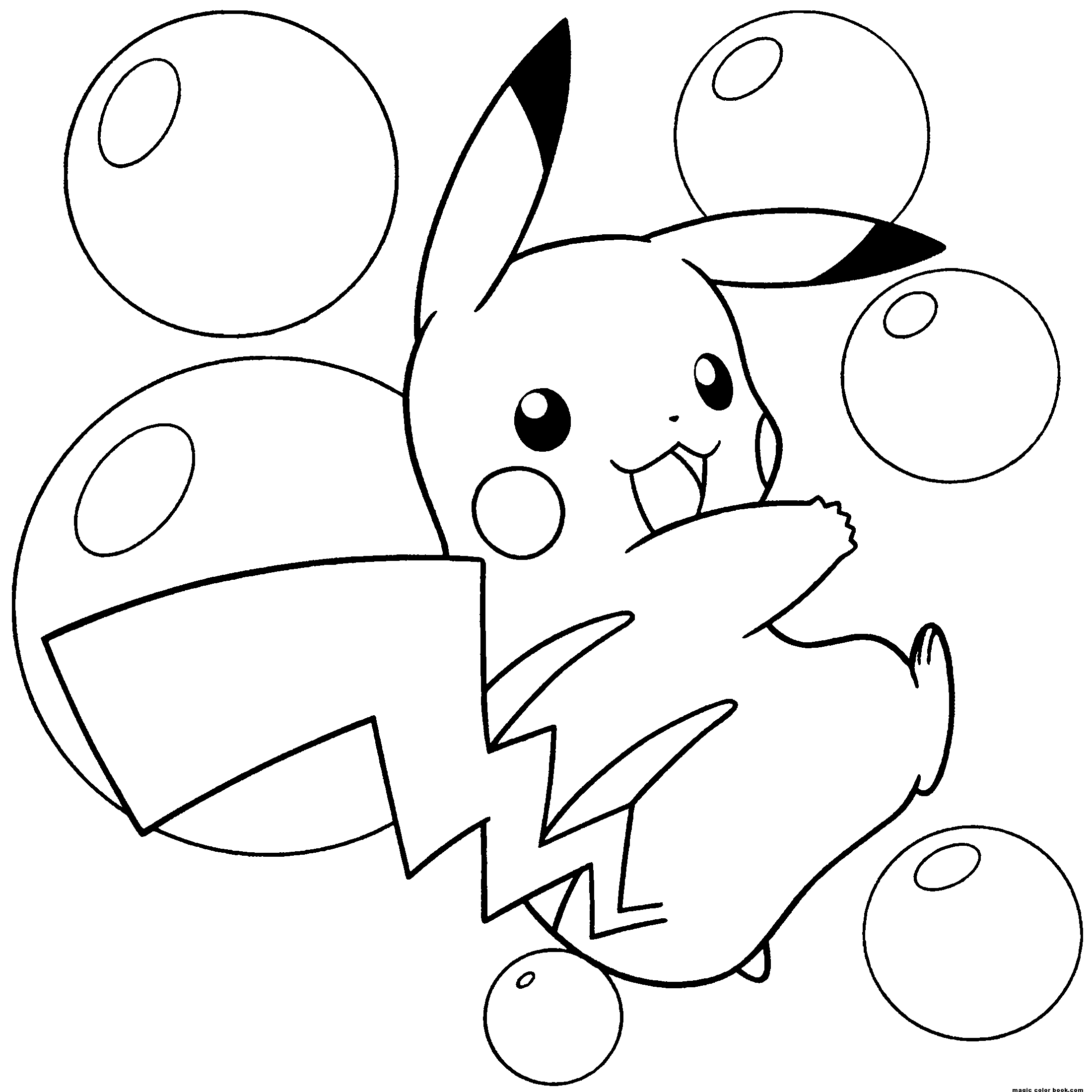 2200x2200 Inspiring Pikachu Coloring Pages Ideas For You