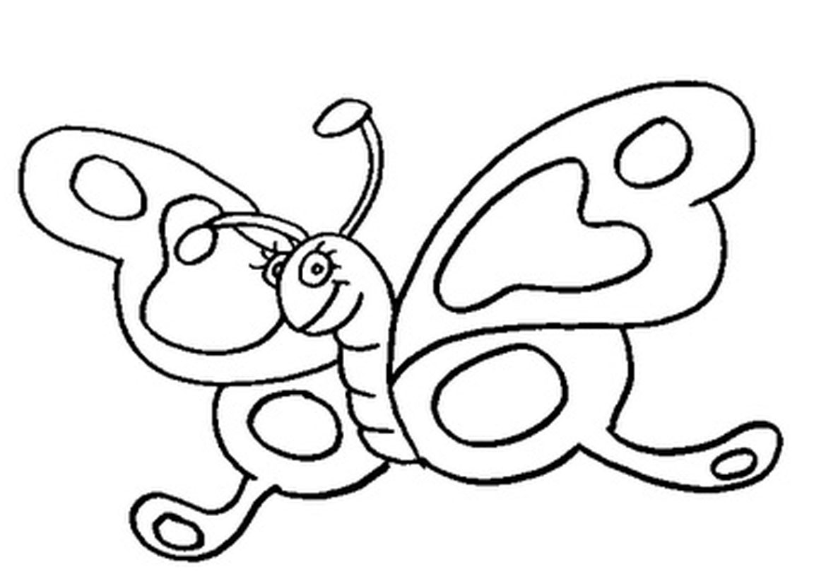 1169x826 Perfect Free Printable Butterfly Coloring Page