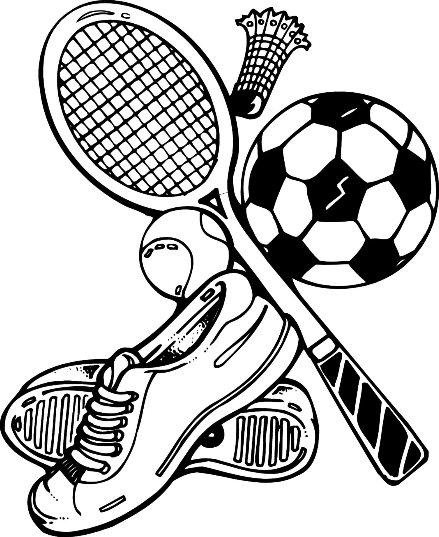 1504x1839 Unique Sport Coloring Pages Ideas For Your Kid