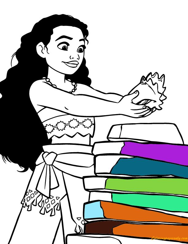 612x792 8 Best Moana Coloring Pages Images Coloring Pages