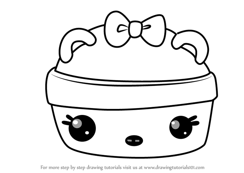 800x567 Learn How To Draw Straw Nana Gloss Up From Num Noms (Num Noms