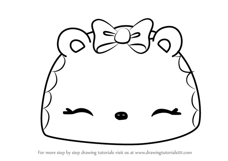 800x566 Learn How To Draw Tropical Go Go From Num Noms (Num Noms) Step By