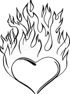 228x308 Creative Design Of Heart Coloring Pages