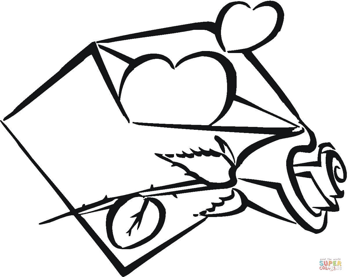 1200x956 Heart Coloring Pages Free Printable Pictures