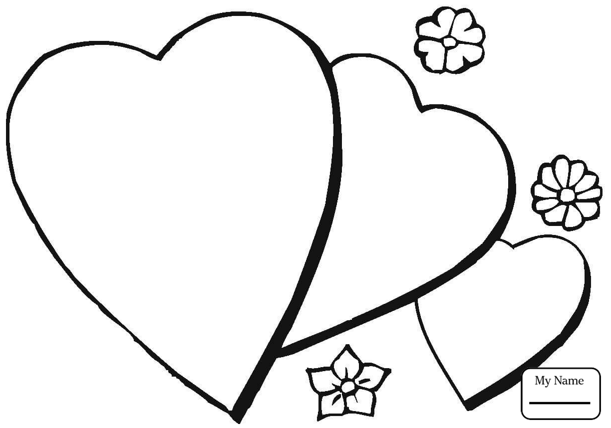 1224x858 Coloring Pages For Kids Arts Culture Fancy Heart Hearts
