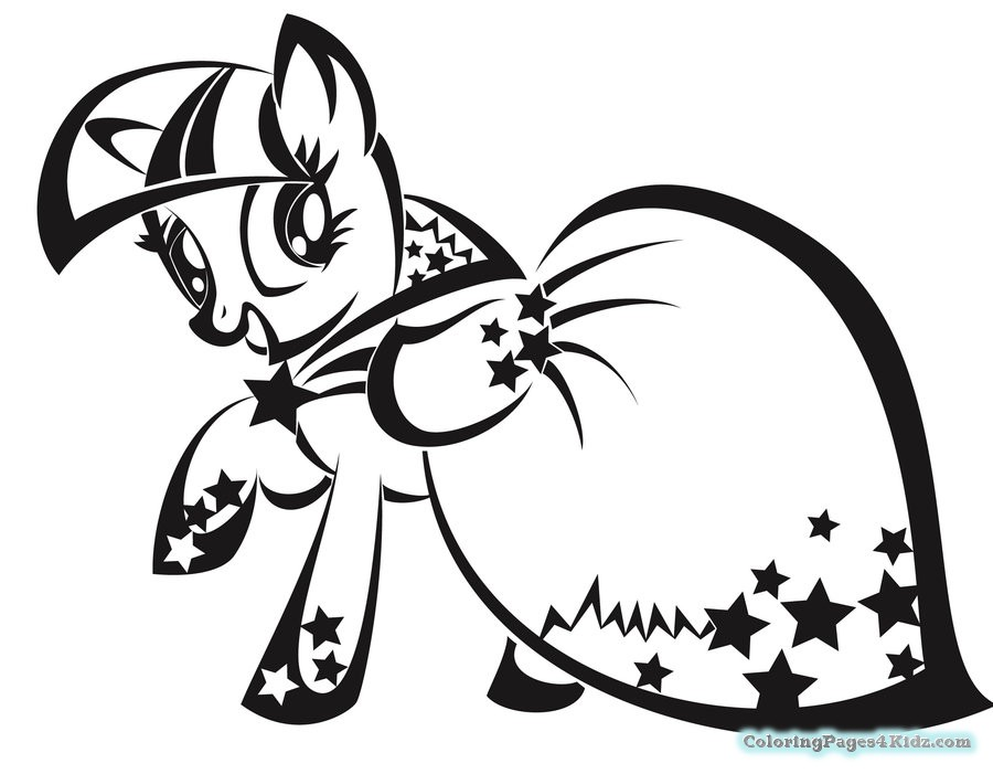 900x701 Terrific Twilight Sparkle Coloring Page 66 With Additional