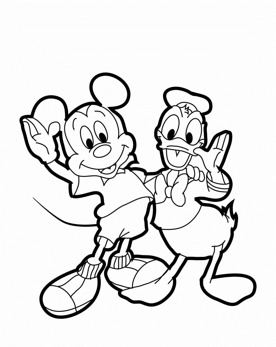 970x1217 Coloring Film Mickey Mouse Coloring Pages Online Colors Baby