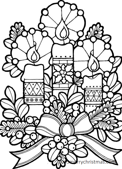 515x715 christmas coloring pages pdf happy new year 2018