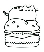 photo about Free Printable Pusheen Coloring Pages titled Coloring Web pages Pusheen Free of charge down load great Coloring Webpages