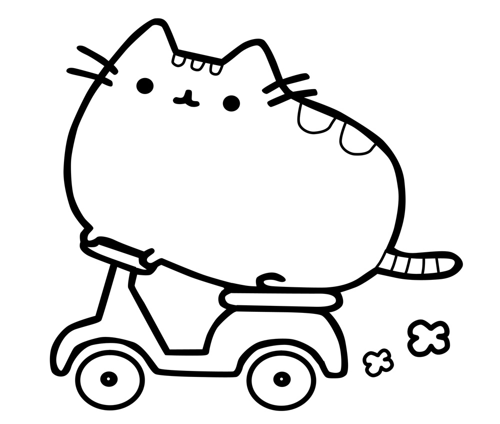 Intrepid image regarding printable pusheen coloring pages