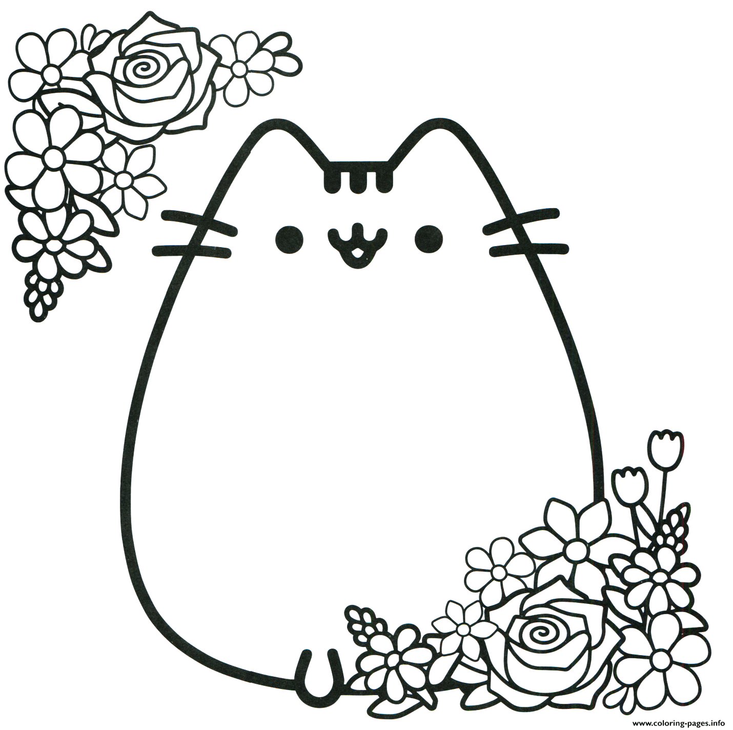 Coloring Pages Pusheen | Free download best Coloring Pages Pusheen ...