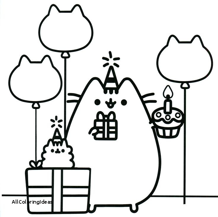 Coloring Pages Pusheen Free Download Best Coloring Pages