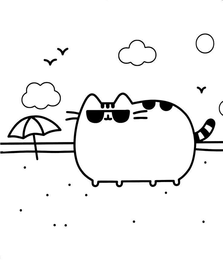736x873 94 Best Pusheen Coloring Book Images Coloring Book