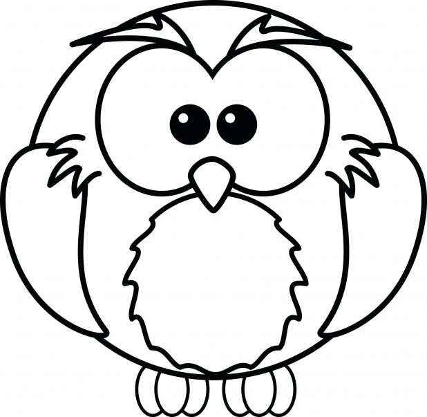 618x603 Free Printable Owl Coloring Pages For Kids Animals Girls Adults
