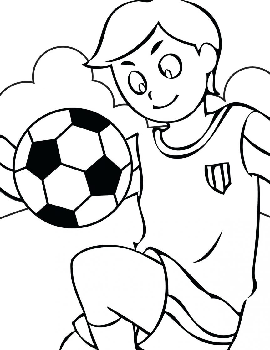 863x1117 Soccer Coloring Pages 9 Kids For Adults Pdf Halloween Cats Quotes