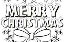 210x140 Coloring Pages That Say Merry Christmas Disney Merry Christmas