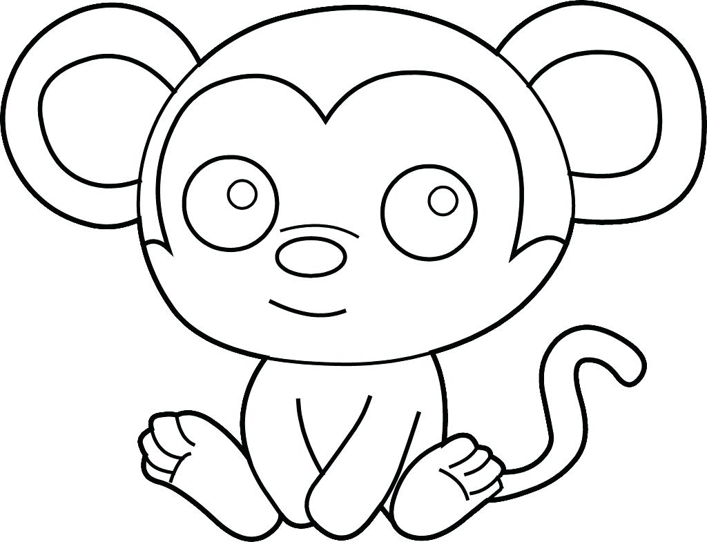 1024x785 Coloring Pages Monkeys Print. Monkey Coloring Pages Print Coloring