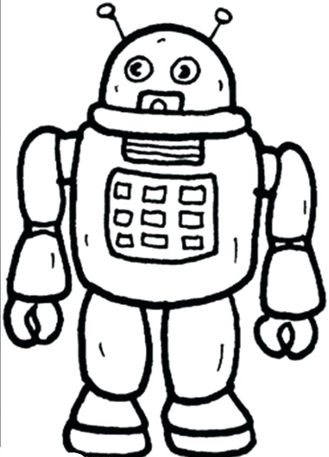650x903 Robot Coloring Pages To Print Robot Big 6 Hero Coloring Pages