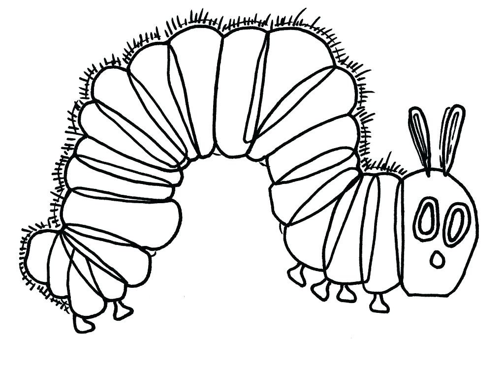 1024x744 Caterpillar Coloring Very Hungry Caterpillar Coloring Pages