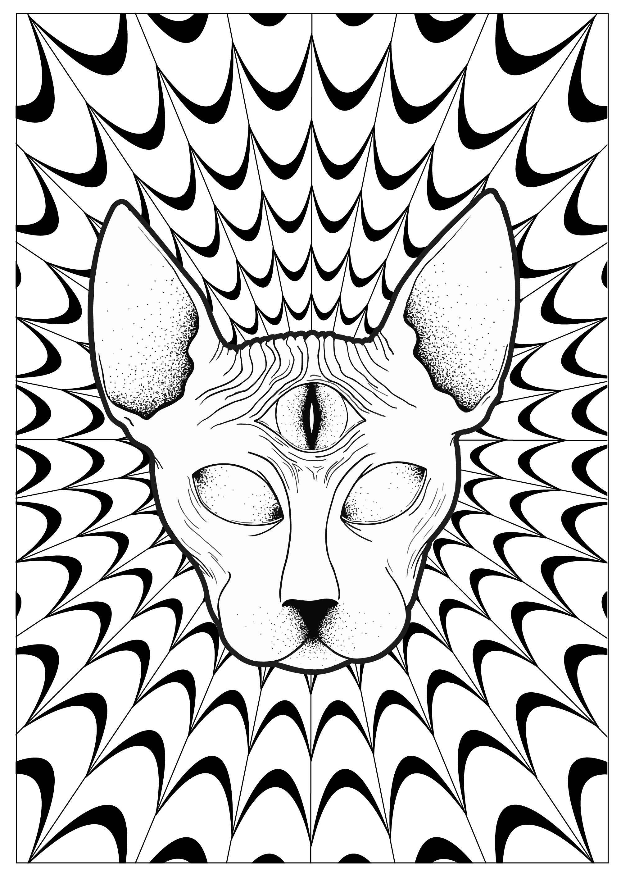 2000x2830 Trippy Coloring Pages Tumblr Coloring Pages Activities
