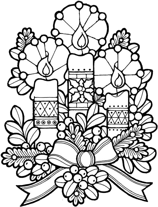 551x720 Christmas Coloring Sheets