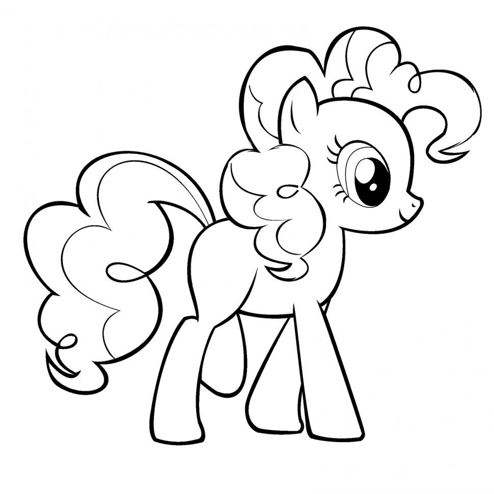 970x970 Coloring Nice My Little Pony Coloring Pages Pinkie Pie Unknown
