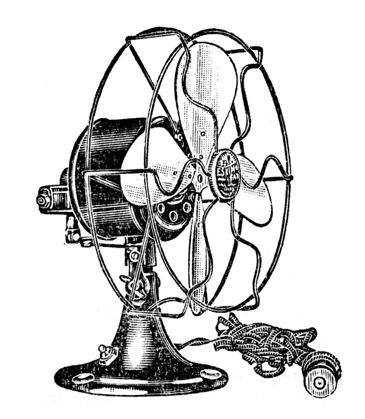 1175x1350 Fans Clipart Coloring Page